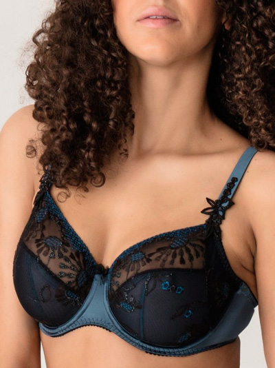Prima Donna Chandelier Full Cup Wire Bra (Mineral Blue)